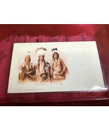 Vintage Postcard APACHE WARRIORS Native American 1900 - $74.25