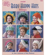 Baby Happy Hats, American School of Needlework Crochet Pattern Booklet 1... - $14.95
