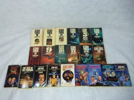 Mixed Lot Of 21 Rare Vintage Star Trek Books Excellent Shape 1967-1990 - $49.49