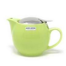 Bee House Ceramic Round Teapot Kiwi