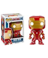 Funko Pop Marvel Captain America 3 Civil War: IRON MAN Vinyl Bobble Head... - $14.25