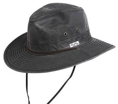 NEW Conner Packable Crushable Cotton OUTBACK Hunting Fishing Hat Black Y... - €45,98 EUR