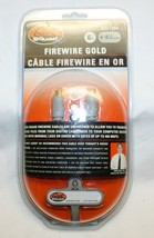 Geek Squad 6 Ft IEEE1394 Firewire Gold Transfer Cable w/ 4-4 Pin BX32 - $10.88