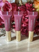 X3 Clarins Paris Velvet Lip Perfector in shade 02 Velvet Rosewood travel... - $12.86