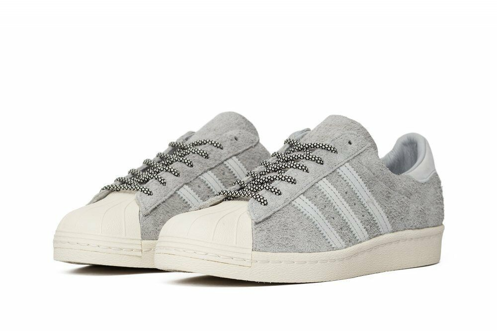 Primary image for Adidas Originaux Superstar 80s Baskets Hommes Gris Baskets - S75849