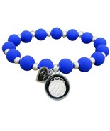 Custom Volleyball Princess Silicone Stretch Bracelet Choose Number Color... - $13.94