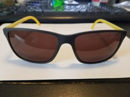 Polo Ralph Lauren PH4092 5507/73 GREY/YELLOW 58-16-145 mm SUNGLASSES NEW - $44.55