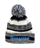 Tennessee 4-Color Embroidered Winter Knit Pom Beanie Hat (Blue) - $11.95