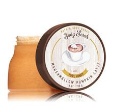 BATH & BODY WORKS Marshmallow Pumpkin Latte 8.0 Ounces Body Scrub - £13.07 GBP