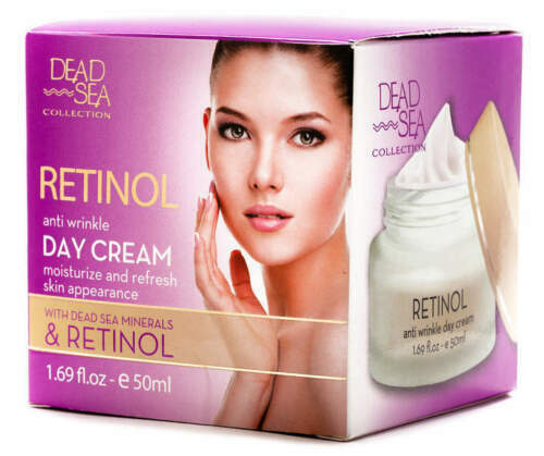 Primary image for Dead Sea COLLECTION Retinol Anti Wrinkle Day Cream 1.69 oz