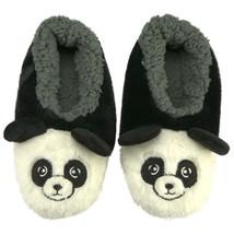 Oooh Geez Fluffy Animal Slipper Panda Bear All Amazingly Soft Sherpa Medium - $17.99