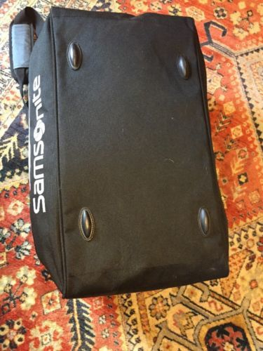 Samsonite Duffle Bag 21 inch Black Gray Travel With Shoulder Strap image 7