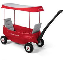 Radio Flyer Deluxe All-Terrain Kids Riding Toy Outdoor Pathfinder Wagon ... - $161.87