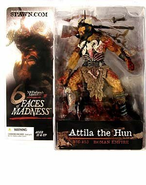 McFarlane Monsters Series 3 Attila the Hun Action Figure