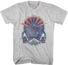 Journey-Alien Head-X-Large Heather Grey T-shirt - $17.41