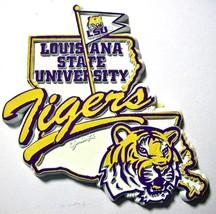 LSU Tigers Outline Fridge Magnet - $6.32