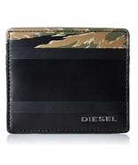 Diesel Men Johnas I X04152 Card Holder Black - $60.29
