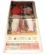 10.21.2011 St Louis POST-DISPATCH Newspaper Cardinals World Series 2 Jas... - $14.99