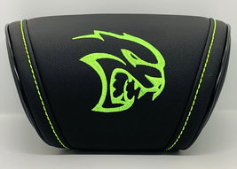 Dodge SRT Hellcat Car Cushion Travel Pillow Embroidery Headrest Neck Sup... - $35.00