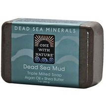 One with Nature Dead Sea Minerals Dead Sea Mud Soap Bar - $8.86