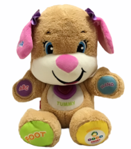 Fisher Price Laugh and Learn ABC Smart Stages Interactive Girl Puppy Plush Toy - $24.74