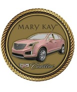 "Mary Kay Cadillac Medallion for Box Cremation Urn/Flag Case - 4"" Diameter - $89.99"
