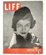 LIFE Magazine VTG March 8 1948 Gaby Bouche Eisenhower Czech Truman Blind... - $26.61