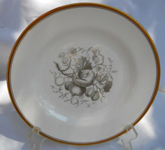 Spode Chatham Fruit Luncheon Plate S No 8 Gold Y5280 Gray - $40.38