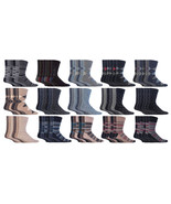 Gentle Grip - 6 Pack Mens Cotton Loose Wide Top Non Elastic / Binding Cr... - $13.99