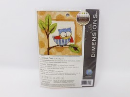 Dimensions Needlepoint Kit - Curious Owl - $12.34