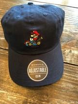 MARIO KART DAD HAT CAP Blue Nintendo 64 Super Mario Kart OSFA Strapback ... - $24.75