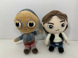 Funko Galactic Plushies Star Wars lot 2 small plush dolls Maz Kanata Han... - $8.90