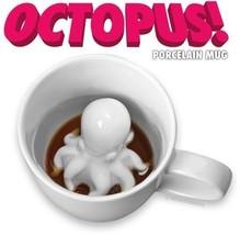 Piovra Attack Tazza di Caffè Kraken Porcellana da Collezione Divertente - $12.39