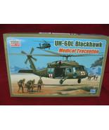 UH60L Black Hawk Medical Evacuation Model Helicopter  - $29.69