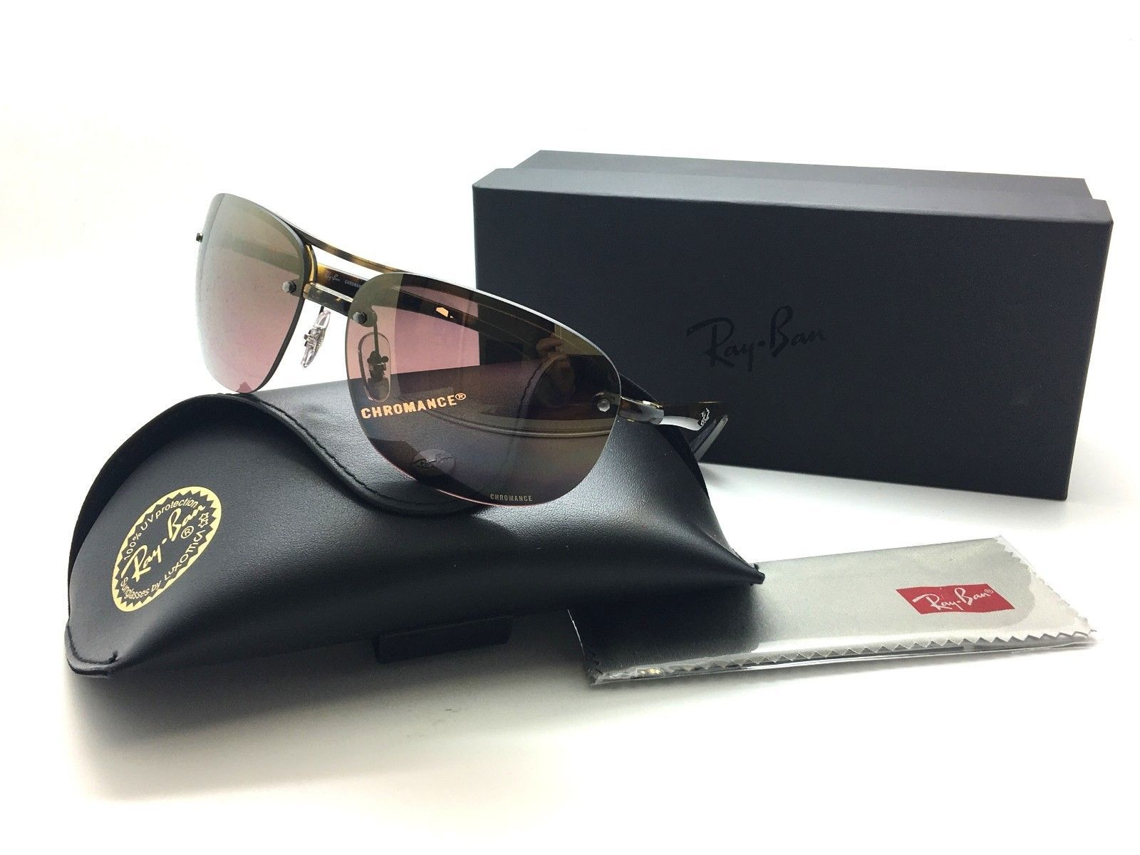 b572ee58cc1 RAY-BAN RB 4275CH 710 6B 3P Dark Havana   and 50 similar items