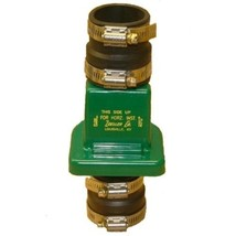 "Zoeller 30-0181 PVC Plastic Check Valve 1 1/2"" Flapper Bends Over a Radius - $21.14"