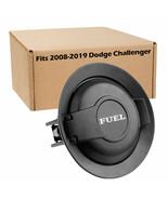 For 2008-2019 Dodge Challenger Matte Black Vapor Edition Fuel Filler Doo... - $35.88
