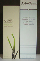 Ahava Dry Oil Body Mist + Facial Day Moisturizer +Gift!!! - $77.39