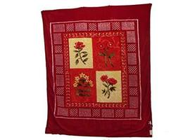 Floral Embossed Winter Decorative Soft Thick Warm Bed Blanket Throw Oran... - €46,36 EUR