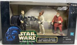 Hasbro Cantina Aliens Labria ,Nabrun Leids, Takeel Action Figure Damaged Box T5 - $19.79