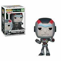 Funko Pop! Animation | Rick And Morty | Purge Suit Rick | Vinyl Figure #566 - $10.95