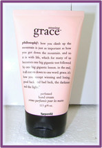 New Philosophy Amazing Grace Perfumed Hand Cream Sealed 4oz Full Size!!! - $25.88