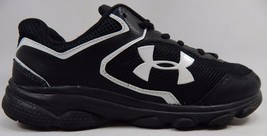 Under Armour Escape Run Boy's Youth Athletic Shoes Size 6.5 Y (M) EU 39 Black