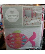 Carter's 4-piece bumper set Sea Collection with fish - $25.00