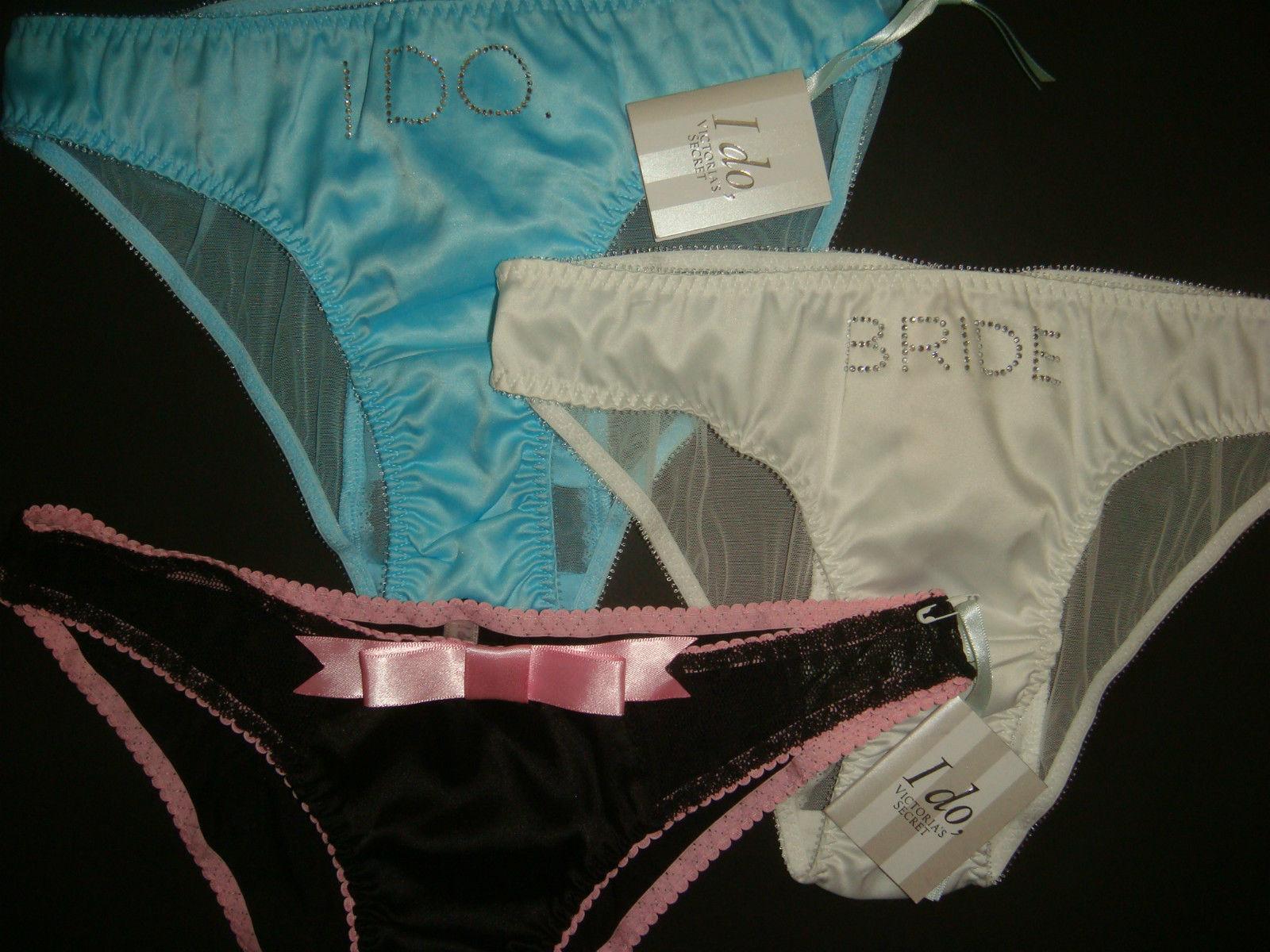 7f165203d6 NWT Victoria s Secret S BABYDOLL+panty crystallized BLUE white black I DO  BRIDAL