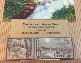 Vtg 1946 Calendar Machtemes Fairway Store St. Bonifacious Minnesota image 2