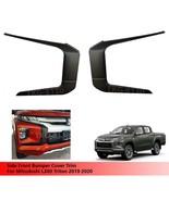 Side Front Bumper Cover Trim For Mitsubishi L200 Triton 2019 2020 - $77.92
