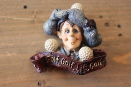 Vintage Golf Golf Lie Golf Brooch Pin - $11.88