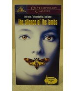 MGM The Silence Of The Lambs VHS Movie  * Plastic * - $4.34