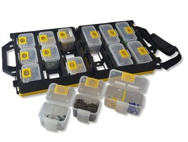 WorkVanEquipment Mobile Hardware Case Tackle Box Removable Compartment O... - $44.35